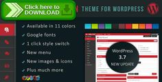 [ThemeForest]Free nulled download Dynamic Admin Theme for WordPress from http://zippyfile.download/f.php?id=42241 Tags: ecommerce, dynamic theme, wordpress admin, wordpress admin colors, wordpress admin dashboard, wordpress admin layout, wordpress admin panel, wordpress admin style, wordpress admin template, wordpress admin theme, wordpress backend, WP Admin