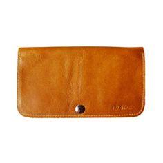 Women's Raw Wallet   Tan - Rib & Hull