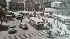 Omnibushaltestelle 50er Jahre in Delmenhorst