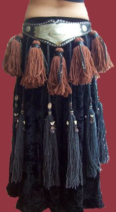 tribal tassel belt - Google Search