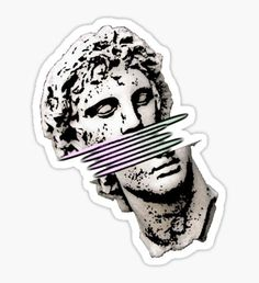 Vaporwave stickers featuring millions of original designs created by independent artists. Mac Stickers, Bubble Stickers, Cool Stickers, Printable Stickers, Laptop Stickers, Hand Sticker, Sticker Paper, Calligraphy Print, Journal Stickers