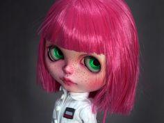 muchacha de la escuela de muñeca blythe Custom por o0SweetPrince0o