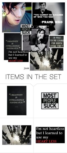 """""""no haters"""" by archfiend ❤ liked on Polyvore featuring art"""