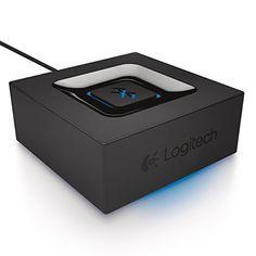 Logitech 980-000910 Bluetooth Audio Adapter for Bluetooth...
