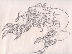 dragon head and claws by Pancho-Villa on DeviantArt