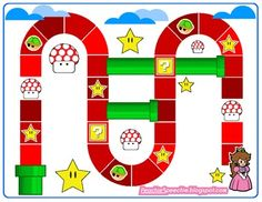 Super Mario inspired game board plus turtle shell cards for adjectives/describing, verbs, comparing and contrasting & question conversation starter cards Articulation Therapy, Articulation Activities, Speech Therapy Activities, Language Activities, Fun Activities, Speech Language Therapy, Speech Language Pathology, Speech And Language, Mario Birthday Party