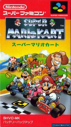 Super Mario Kart FAMICOM Japanese cover