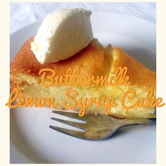 Buttermilk Lemon Syrup Cake (Thermomix Method Included)