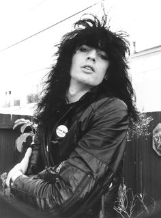 Tommy Lee of Motley Crue, 1981: Motley Crue drummer Tommy Lee gave his best tough-guy look in 1981.