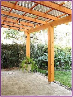 The pergola kits are the easiest and quickest way to build a garden pergola. There are lots of do it yourself pergola kits available to you so that anyone could easily put them together to construct a new structure at their backyard. Diy Pergola, Building A Pergola, Wooden Pergola, Outdoor Pergola, Pergola Shade, Pergola Kits, Backyard Patio, Outdoor Dining, Pergola Roof