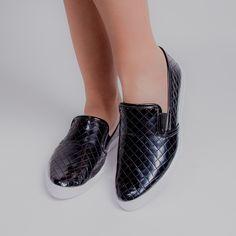 Oxford Couro Shoestock Brogues Feminino | Shoestock