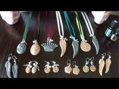 spOILed Nice--How to infuse aromatherapy clay jewelry with doTERRA essen...
