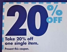 BED BATH BEYOND 20 OFF COUPON 20% Savings PROMO Code SAVE Deal OFFER In STORE***
