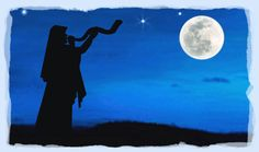 Psalm 81:3   Blow up the trumpet in the New Moon (chodesh), in the time appointed (Keseh..full moon or appointed time), on our solemn feast (chag) day.  Chodesh, Keseh, & Chag all refer to one & the same thing with a single blow of the shofar to announce them.