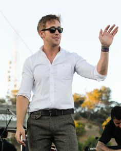 Ryan Gosling- one of my favorite actors he is so sexy in crazy,stupid love & the notebook