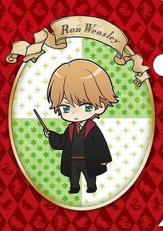 Official anime-style Harry Potter merchandise: Ron Weasley