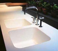 corian kitchen sinks hands free faucet 48 best images design concrete sink nice