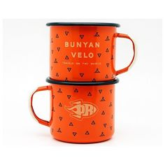 Bunyan Velo x Porcelain Rocket camp mugs are available in the shop at bunyanvelo.com!  @porcelainrocket and I co-designed these 12oz mugs and we're hella excited about 'em.  Constructed of steel enameled in Poland patterned with icons from an old map of Oregon dug up by our friend @gabrielamadeus and limited to a hand-numbered batch of 225. by bunyanvelo
