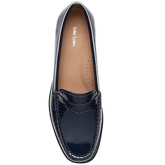 Buy John Lewis Penny Leather Moccasins Online at johnlewis.com