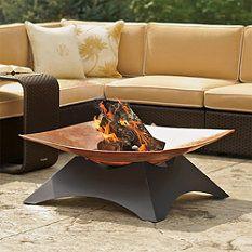 classy fire pit #copper #firepit #patio #summer