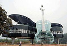 Amazing Building Design, Hainan City, Ann Hoey territory, China.