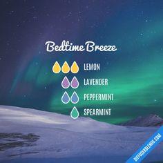 Bedtime Breeze - Essential Oil Diffuser Blend