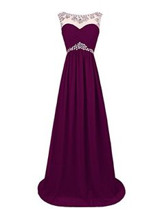 Dresstells Women's Long Prom Dresses Wedding Dress with Beads Grape Size 2 Dresstells http://www.amazon.com/dp/B00OHGA8QY/ref=cm_sw_r_pi_dp_PvMVub0N3E6H0
