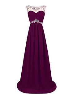 Dresstells Women's Long Prom Dresses Wedding Dress with Beads Grape Size 2 Dresstells http://www.amazon.com/dp/B00OHGA8QY/ref=cm_sw_r_pi_dp_PvMVub0N3E6H0