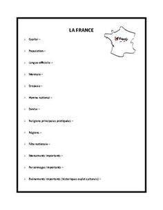 This is a great worksheet on BAGS adjectives in French