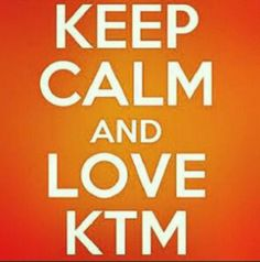 Ktm for the hubby