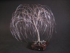 Saule pleureur arbre Sculpture  Fait cadeau par Trees2Art sur Etsy