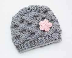 Celtic Knots Baby Girl Hat