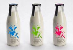 new oldschool milk bottles