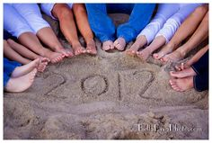 Cute idea for family vacation photo session   by BellaDiva Photography