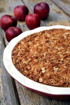 Apple Coconut Crumble Pie