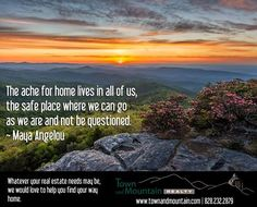 #Asheville #WNC #RealEstate #HOME www.townandmountain.com Start your search today!