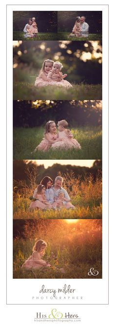 Iowa Family Photographer | Darcy Milder, His & Hers