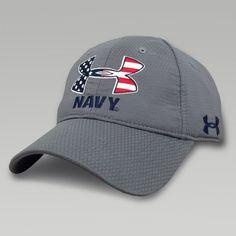 0b3f3fba2cf Under Armour Navy Logo Zone Hat