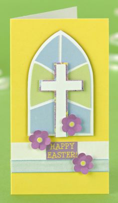 DIY Free Printable Make a beautiful card for Easter