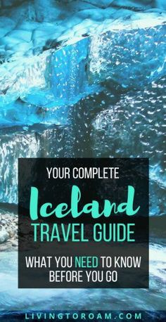 Iceland Travel Guide | visit Living to Roam... for the best tips on how to see the Northern Lights, a 1 week itinerary and why Iceland is the Beyonce of countries!