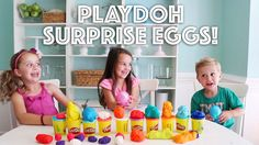 Playdoh Surprise Eggs! – At Home With Natalie