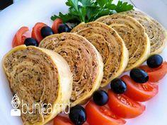 bunica.md — Ruladă din carne cu ciuperci Sushi, Ethnic Recipes, Food, Essen, Meals, Yemek, Eten, Sushi Rolls