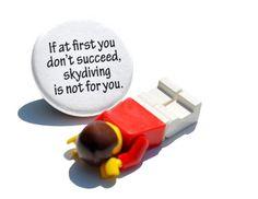 Skydiving Fail Pin / Button
