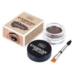 Wibo, Eyebrow Pomade (Koloryzująca pomada do brwi) - cena, opinie, recenzja Dark Brown, Eyebrows, Make Up, Cosmetics, Pretty, Stuff To Buy, Mass Market, Wax, Eye Brows