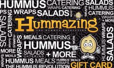 Gift cards are here ! Hummus Salad, Gift Cards, Banners, Catering, Gift Wrapping, Marketing, Signs, Gift Vouchers, Gift Wrapping Paper