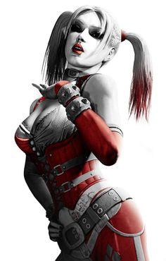 Harley Quinn [video game art]