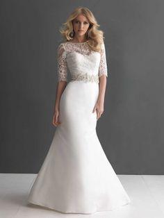 Allure 2666 wedding dress zazabella.fi