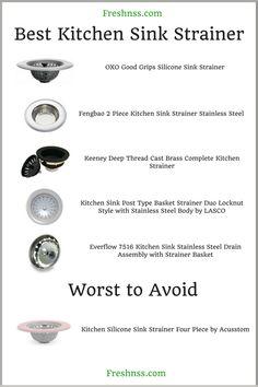 58 best kitchen sink strainer ideas in
