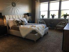 Master bedroom Decor, Master Bedroom, Bed, Furniture, Saratoga Homes, Home Decor