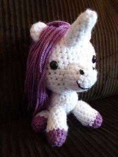 amaguri crochet unicorn